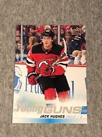 Jack Hughes Young Guns Jumbo Oversized Rookie Card 2019-20 Upper Deck UD