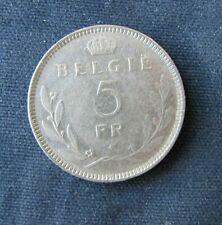 Munt België: 5 F 1936, vlaamse legende