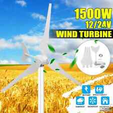 Wind Generator Full Kit 12V/24V 3 Blade Wind Turbines Windmill Charge Controller