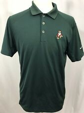 NIKE GOLF Disney Parks Authentic Mens Polo Shirt MEDIUM Green Grumpy Snow White