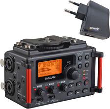 Tascam DR-60D Audiorekorder für Kameras + keepdrum Netzteil