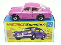 Matchbox Lesney No.67b Volkswagen 1600TL In Type 'G2' Box (WIDE WHEEL ARCHES)