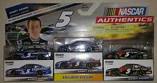 NASCAR Authentics Kasey Kahne 3 Pack Edition Die-Cast Cars 1:64 Scale with
