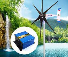 1800 W WindZilla PMA 24 V AC 6 Blade Wind Turbine Generator + Charge Controller