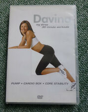 DAVINA MCCALL - MY THREE 30 MINUTE WORKOUTS - EXERCISE & FITNESS DVD - REGION 2