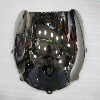 Windshield Screen For Suzuki Double bubble 1996-2000 1998 GSX-R600/750 Silver