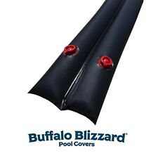 Buffalo Blizzard 1' x 10' Black 22 Gauge Water Tubes Swimming Pool Winter Covers