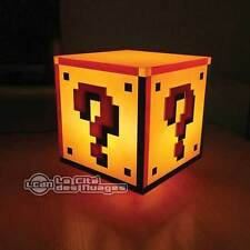 Super Mario Bros Lampe Question Block Light 18 cm PALADONE PRODUCTS Nintendo NES