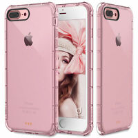 Fits Apple iPhone 7 Plus Case Silicone Clear Cover Bumper Rubber Protective TPU