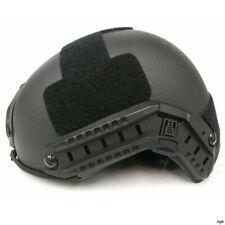 Uhmw-Pe Ballistic Iiia Bullet Proof Helmet M Black