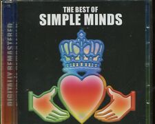 SIMPLE MINDS - THE BEST OF on 2 CD's - REMASTERED