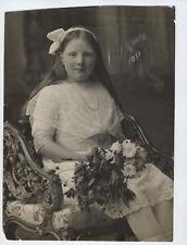 QUEEN HOLLAND Juliana vintage original THREE photos Princess Netherlands