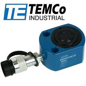 "TEMCo HC0027 Telescoping Hydraulic Cylinder Tons: 19.8 / 6.7 @ Stroke: 0.43"" / 0"