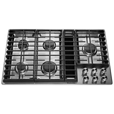 KitchenAid KCGD506GSS 36 X 18.4 X 21.5in. 5 Burners Stainless Steel Gas Cooktop