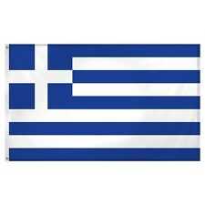 3x5 Greece Greek Super-Poly Flag 3'x5' House Banner Fade resistant