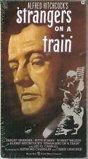 Strangers on a Train Vhs 1991 Alfred Hitchcock Farley Granger Ruth Roman New Vtg