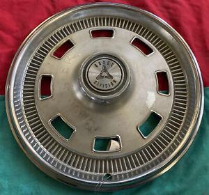 "1967 Dodge Division Charger Coronet Dart 14"" Wheel Cover Hubcap CAP SLOT VINTAGE"