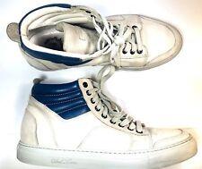 Del Toro Mens Tan Cream High Top Boxing Shoes Sz 8 359