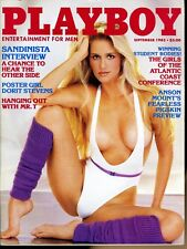 Playboy Magazine September 1983 Dorit Stevens / Sandinista Interview