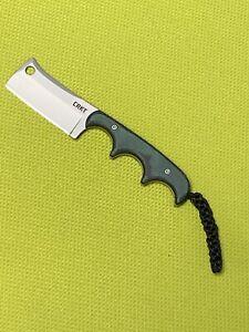 CRKT Minimalist Cleaver Folts Design Neck Knife 2383