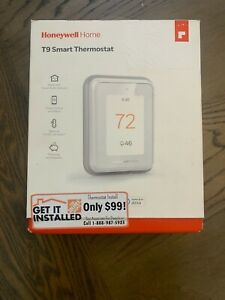 Honeywell RCHT9510WFW Home T9 Smart Thermostat - White Alexa