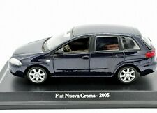FIAT SCALA 1:43 CROMA AUTO MODELLINI DIECAST COLLEZIONE NOREV MODELLISMO STATICO