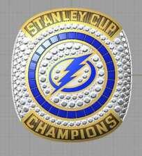 HEDMAN 2020 Tampa Bay Lightning Stanley Cup Championship Ring GLORIA Fan Gift