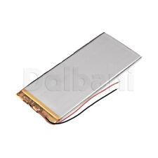 3555125, Internal Lithium Polymer Battery 3.7V 35x55x125