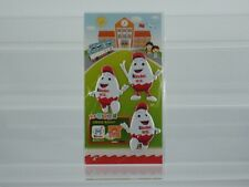 RAR!!!   Kinderino 3 D Sticker China Kinder Joy