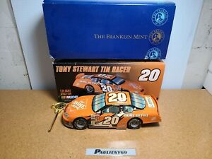 2003 Tony Stewart #20 Home Depot Chevy Tin Racer 1:24 NASCAR The Franklin Mint