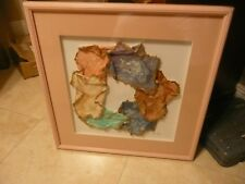 Amazing Original Paper Art Sculpture  'GIRL DAYS' by G Caso signed