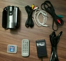 Canon VIXIA HF200 1080i HD Working Camcorder.  Includes accessories and SD card