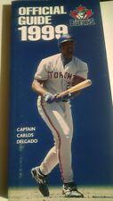 Media Guide 1999 Toronto Blue Jays MLB Baseball Team Press Book