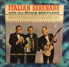 Richie Brothers LP Italian Serenade GLENELLI ORENTE Dana International AUTOGRAPH