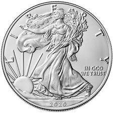2020 american silver eagle 1oz 1$ - .999 plata- moneda de plata 1 onza