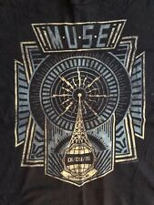 Exclusive *Muse* concert shirt - Las Vegas 1/9/16 - Black - Size XL