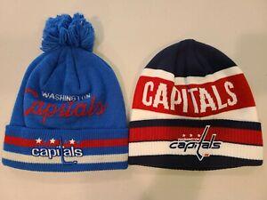Washington Capitals Retro Throwback Adidas Knit Hats