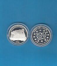 Monuments d' Europe 15 écus/100 Francs en argent 1995 Le Parthénon Grèce