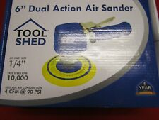 """Tool Shed 6"""" Dual Action Pnuematic Air Sander"""