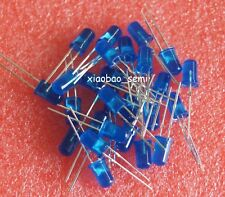 100PCS 5mm Blue Super Bright Diffused LED Light Lamps