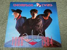 THOMPSON TWINS into the gap 1984 UK Tour Programme!
