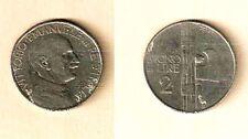 BUONO DA LIRE 2 NICHELIO- ANNO 1925 - VITTORIO EMANUELE III -    N.27