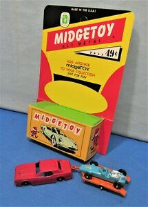 Die Cast Mustang with Trailer Hitch ~ Hot Rod Trailer & Hot Rod Roadster