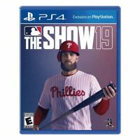 MLB The Show 19 PS4 Playstation 4 Brand New Sealed