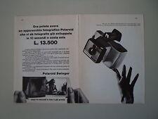advertising Pubblicità 1966 POLAROID SWINGER