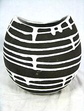 """Seltene 50´s Liesel Spornhauer Design Schloßberg Keramik Vase """" Roulette"""" 100"""