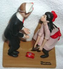 Norman Rockwell - 1980 12 Rockwell Sep First Dance Porcelain Figurine