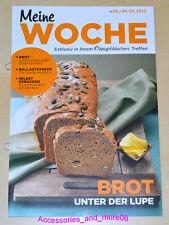 Weight Watchers Meine Woche 03.03.2013 - 09.03.2013 ProPoints™ Plan 360° *2013*