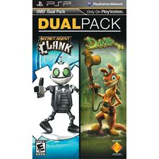Daxter and Secret Agent Clank PSP UMD Dual Pack 2 Games NEW SEALED