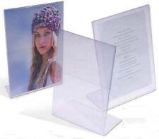 Espositore da tavolo,portafotografie,portamenù,20x25,4x6cm,ideale per matrimonio